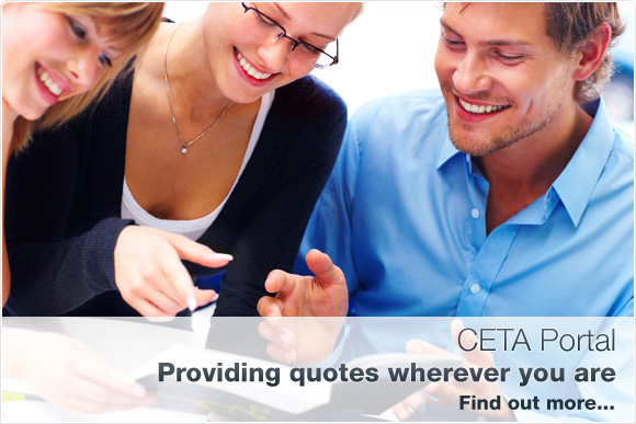 CETA Portal - Providing quotes wherever you are